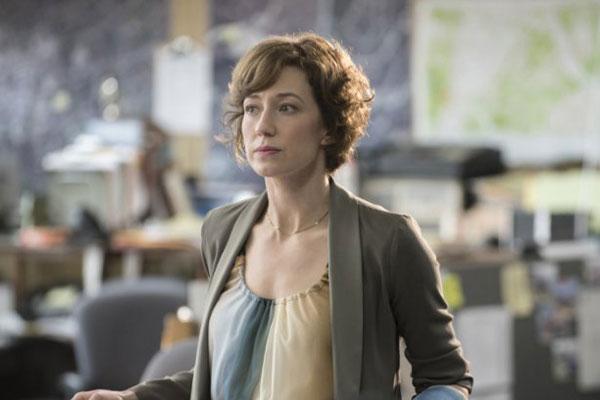 Actress Carrie Coon