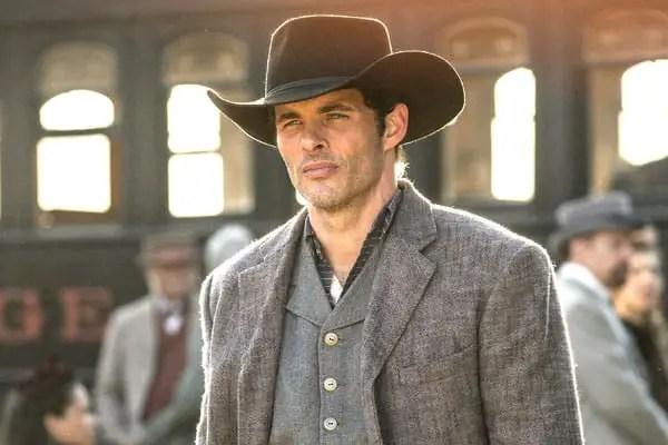 Actor James Marsden in Westworld
