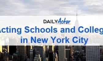 Acting Schools NYC