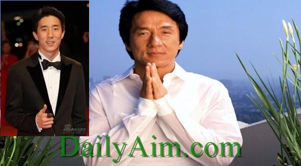Jackie Chan and son, Jaycee Chan