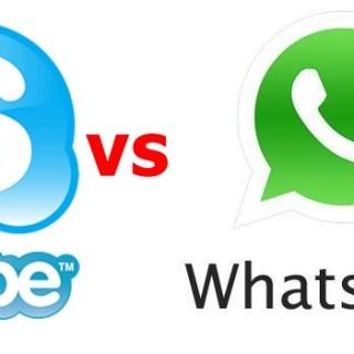 SKYPE Advantage over Whatsapp