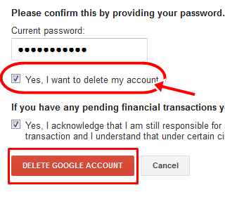 Steps to Delet Gmail Account Permanently