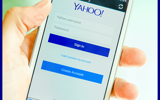 Login Yahoomail Using A Mobile Phone