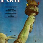 Saturday Evening Post -      John Falter Independence Parade 1945
