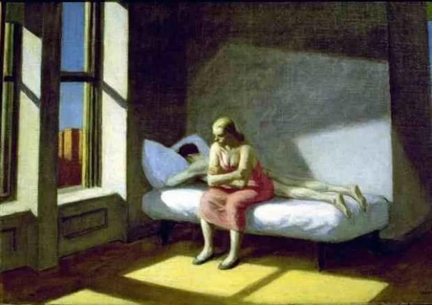 Edward Hopper, Summer in the City, 1950, private collection