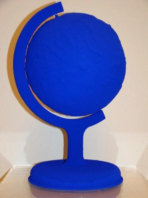 Yves Klein, Blue Earth, 1957, Blue Yves Klein