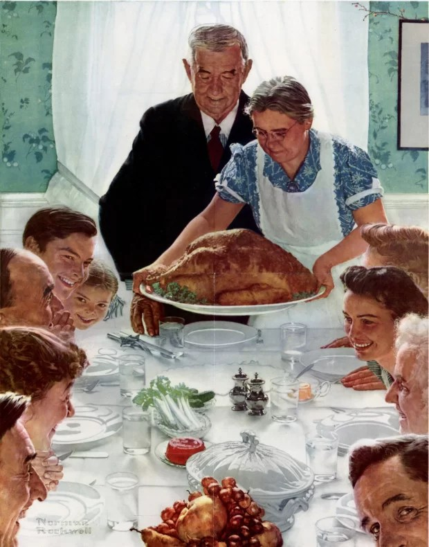 Norman Rockwell, Freedom From Want, Norman Rockwell Museum, Stockbridge, 1943