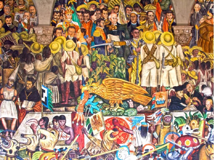 "Exploring the History of Mexico in the Murals of ""the Big Three"""