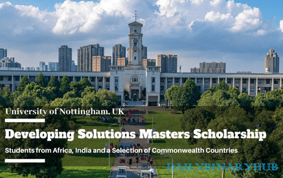 Developing Solutions Scholarship