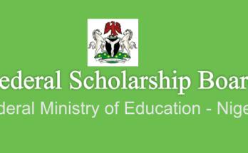 Government of Nigeria Undergraduate Scholarship