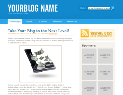 bluesensation wordpress theme