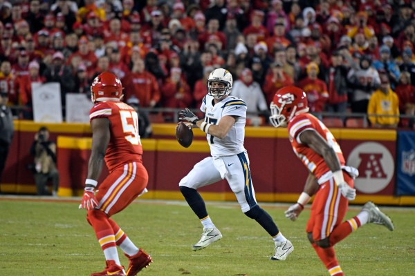 Image result for Chiefs Chargers ap photo