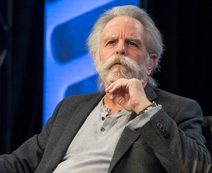 Bob Weir, of the Grateful Dead, receives of the Music for Life Award during the Breakfast of Champions kick-off event at the Anaheim Hilton during the NAMM Show 2018 on Thursday, Jan. 25, 2018. (Photo by Keith Durflinger, Orange County Register/SCNG)