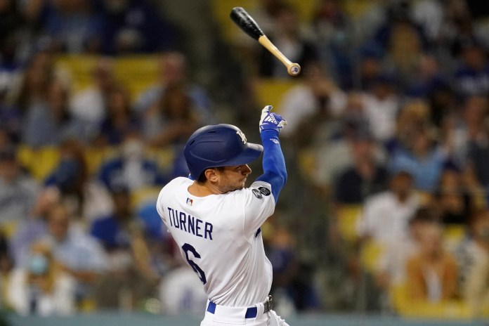 The Dodgers made it to the playoffs with a win over the Diamondbacks
