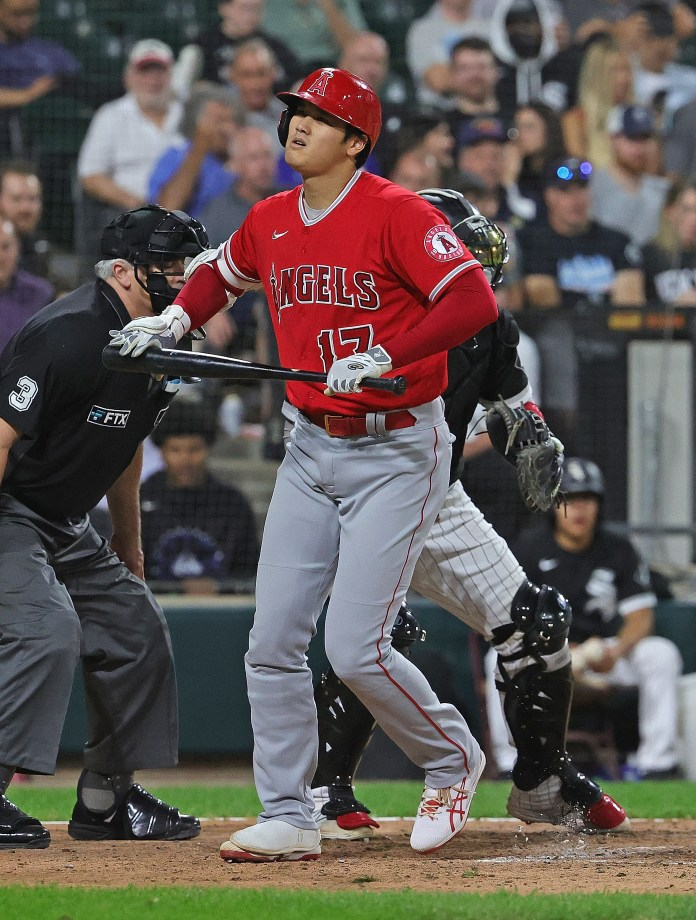 Angels pitchers struggle in loss to White Sox