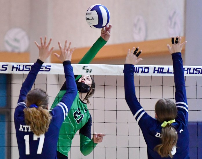 Upland Girls volleyball team remains unbeaten after sweeping Chino Hills