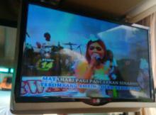 """Kabin bus Agrmas dengan Hiburan Audio Visual LCD 29 """""""