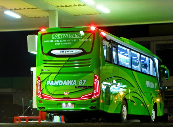 Gambar bus pandawa87 Terbaru