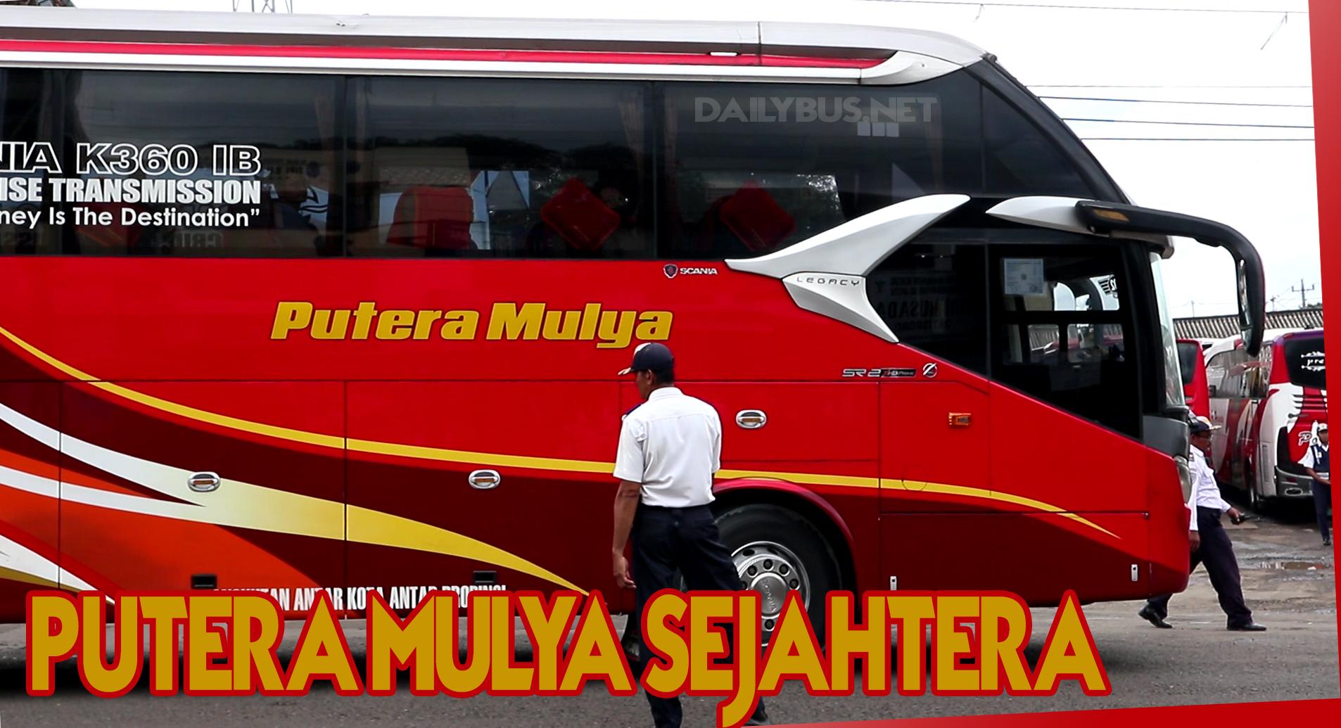Harga Tiket Dan Rute Bus Putera Mulya Sejahtera Terbaru 2019