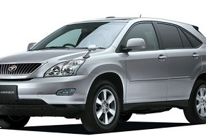 Toyota Harrier 2003 to 2009