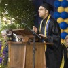 Aaron Benavidez speaks to his fellow graduates at UC Berkeley's 2011 Commencement.