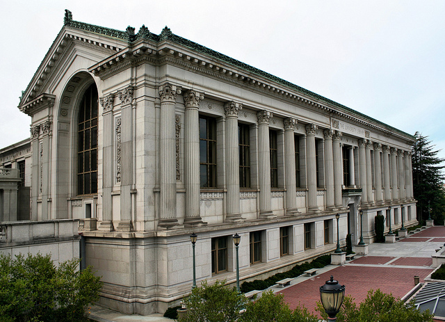 Doe Library was one of the buildings Howard oversaw the construction of in the early 1900s.