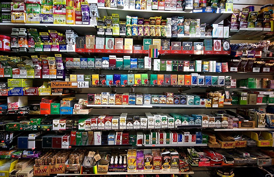 city proposal to restrict tobacco product sales draws