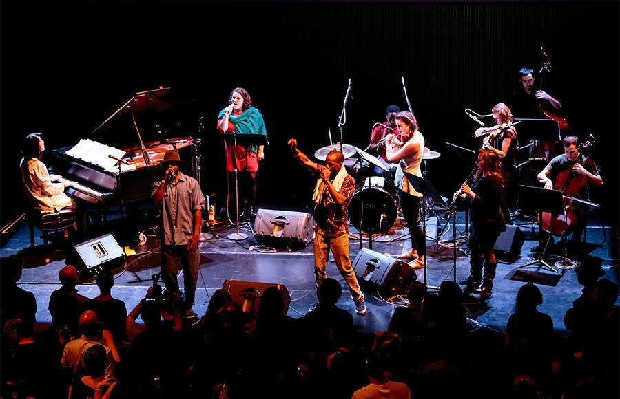 Classical music group Ensemble Mik Nawooj reimagines hip-hop