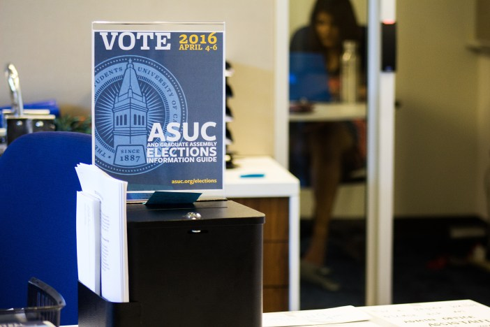 ASUC Voting Booth
