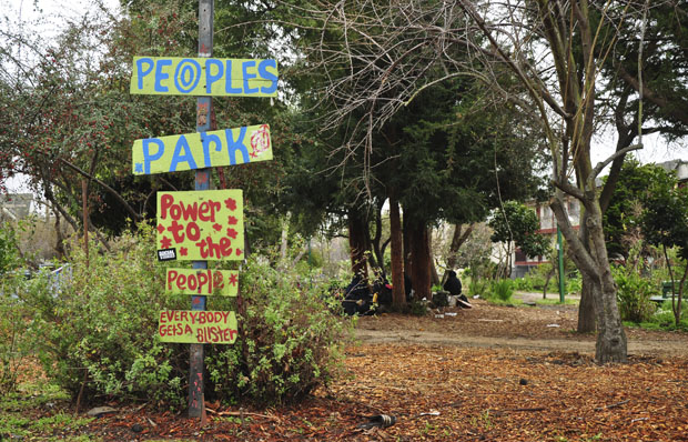 UCPD holds cleanup at People's Park