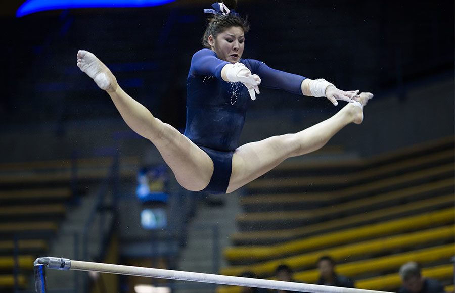 No 16 Cal Women S Gym Places 6th At Pac 12 Championships