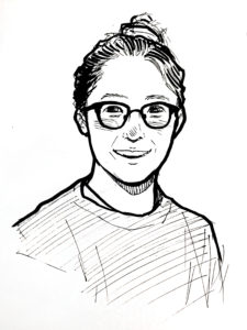 An illustration of columnist Annalise Kamegawa.
