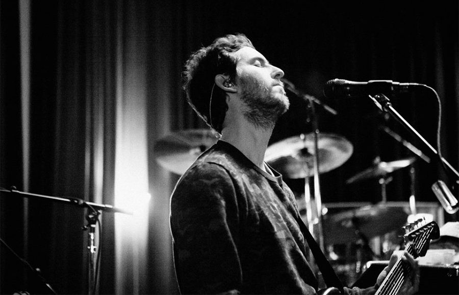 Adam Levine rehearses with Maroon 5 for his upcoming tour