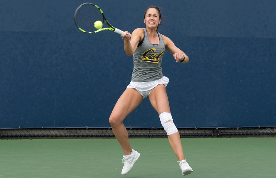 Cal women's tennis takes doubles title in Fall ...