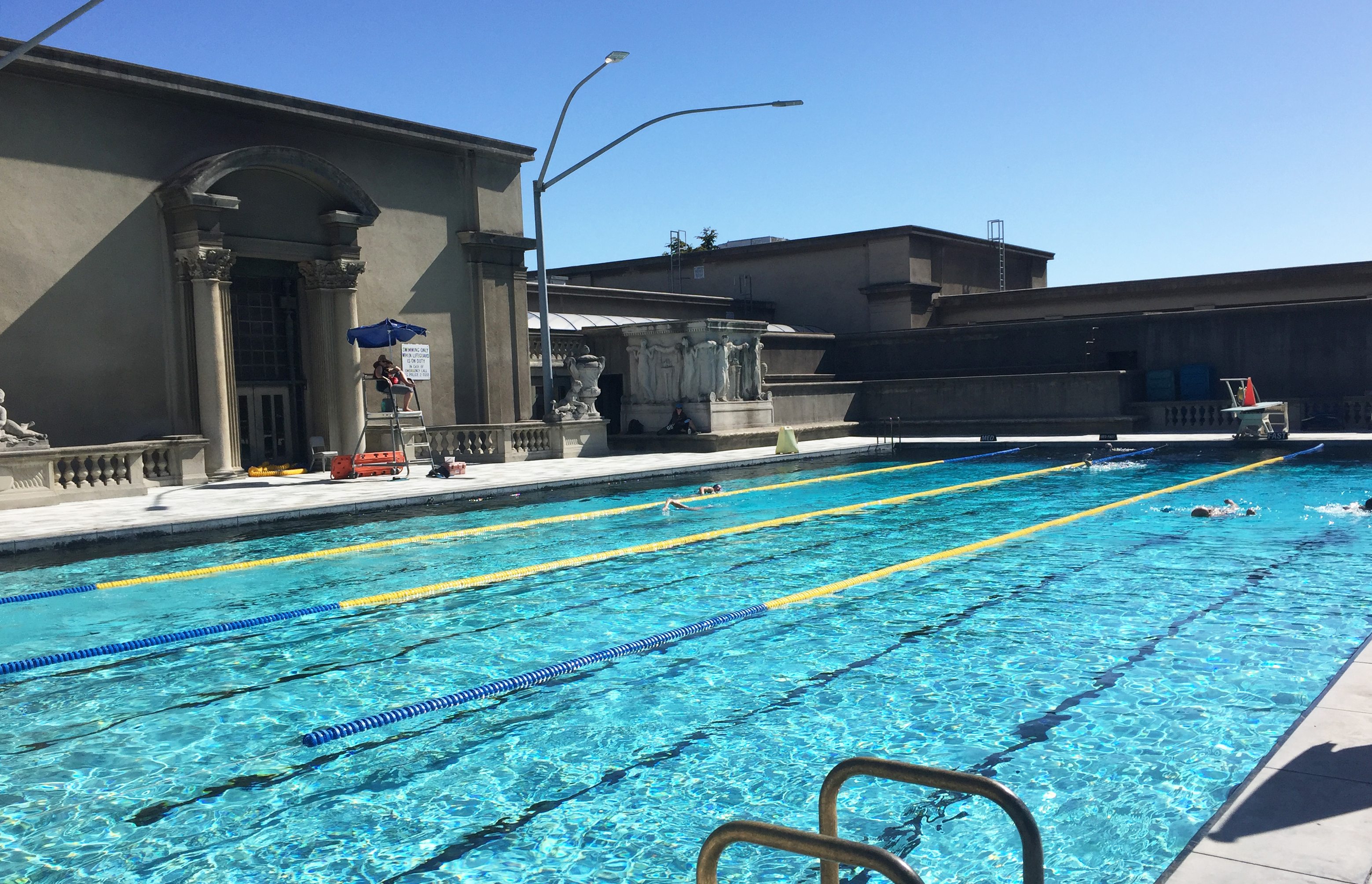 Get Your Cool On Ranking The Uc Berkeley Campus S Pools