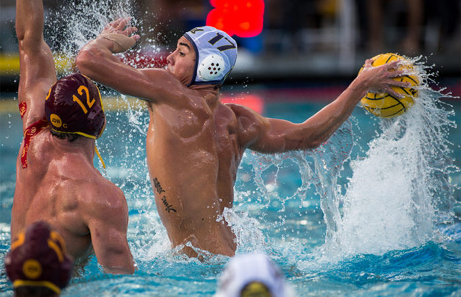 Strong first halves propel Cal mens water polo to two