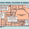 Map of Bounce locations in Berkeley