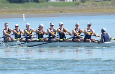 Rowers merrily row the boat.