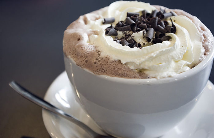Get it while it's hot! Easter-themed hot chocolate recipe