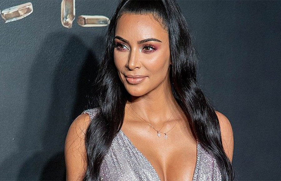 Kim Kardashian at a carpet event