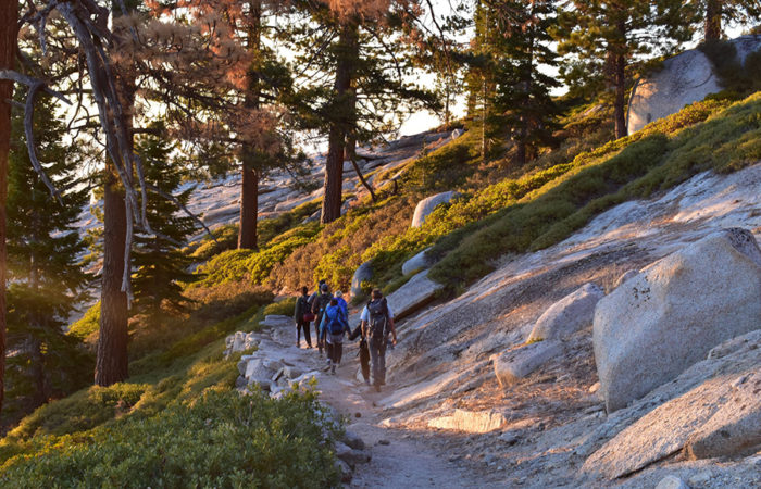 Stop and smell the roses: Backpacking Clouds Rest in Yosemite