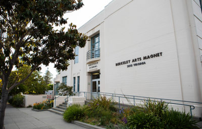 Berkeley Arts Magnet School at Whittier School is one of three local schools offering free meals in the summer.