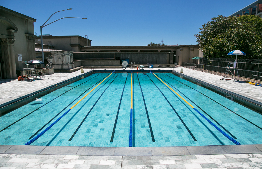 The Clog's power ranking of Berkeley Rec Sports swimming pools