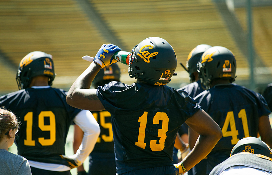 Fall camp day 5: Hard count, role players, Slip 'N Slide highlight action-packed day for Cal football