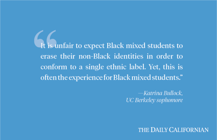 UC Berkeley lacks sufficient resources for Black mixed students