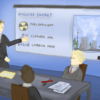 Illustration of presentation about Nuclear Energy