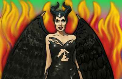 Illustration of Maleficent