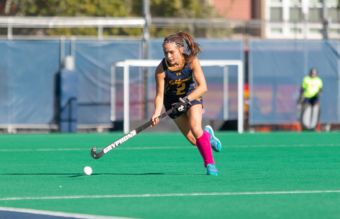 Cal field hockey finds net in their third overtime game this season