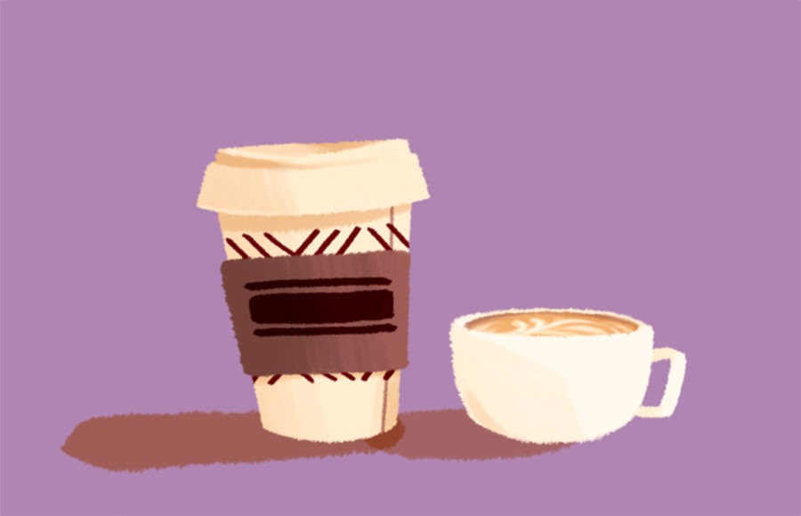 Illustration of coffee