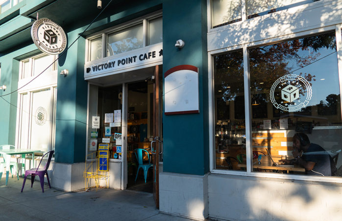 Board games galore: Victory Point Cafe